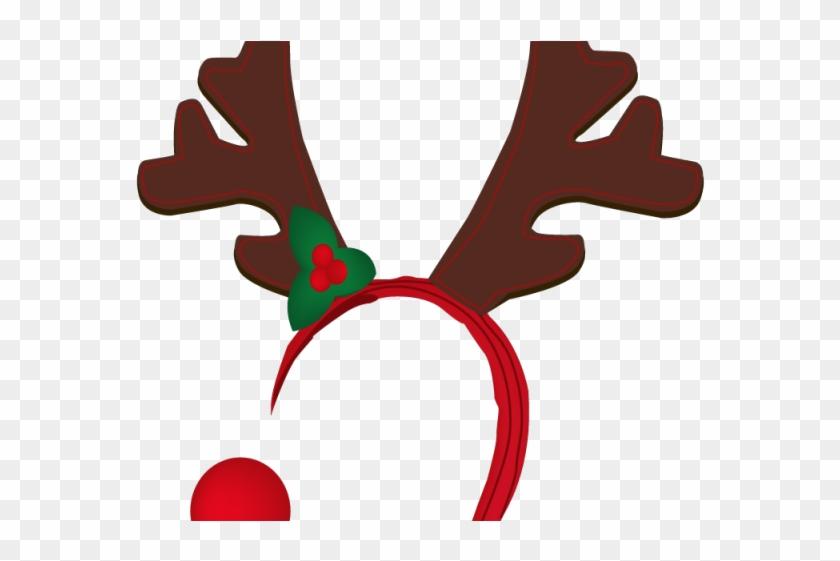 Reindeer clip art free. Antler clipart headband