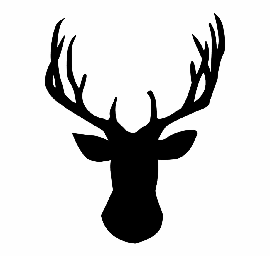 Royalty free download antler. Antlers clipart outline