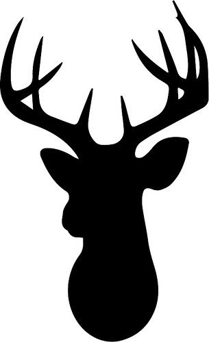 Aztec clipart deer head. Free svg files downloaded
