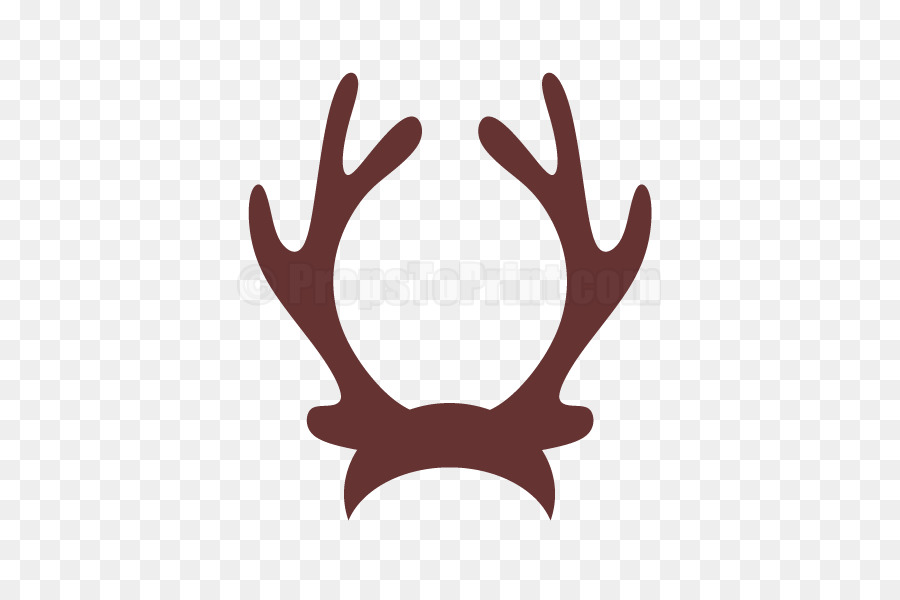 Reindeer horn clip art. Antler clipart raindeer