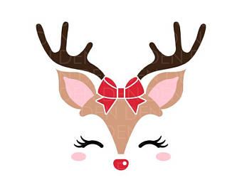 Reindeer antlers free download. Antler clipart raindeer