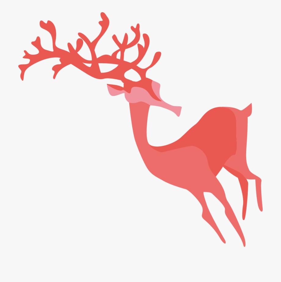 Antler clipart raindeer. Buck reindeer free cliparts