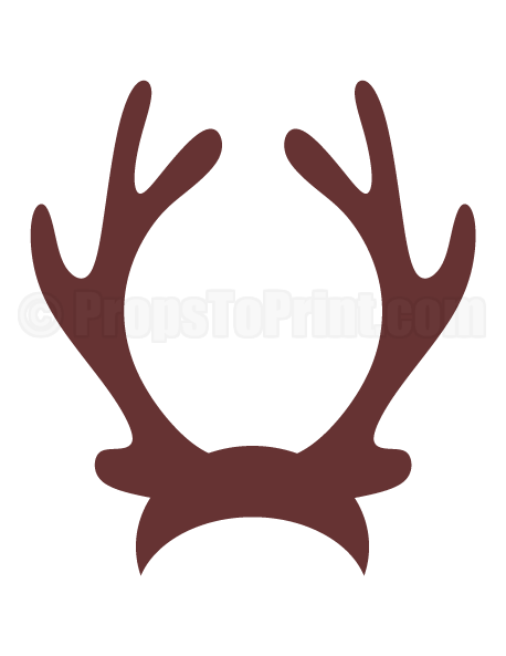 Antlers clipart reindeer ear.  collection of ears