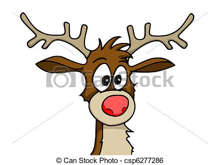 Antler clipart rudolph the red nosed reindeer. Drawing at getdrawings com