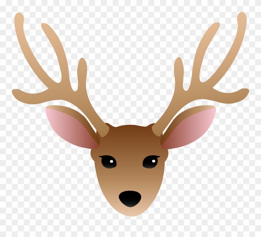 Antlers clipart simple. Deer png download