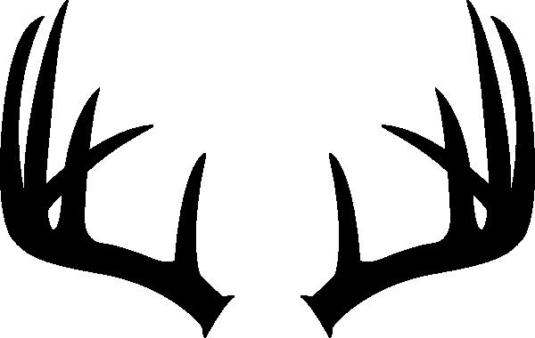 antler clipart single