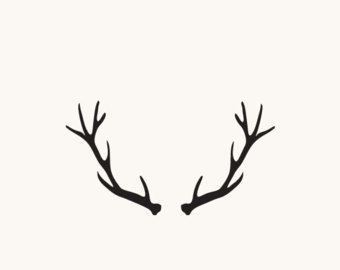 Antler clipart svg. Walking bear and dxf