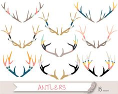Antler clipart tribal. Wb jc png frostbit