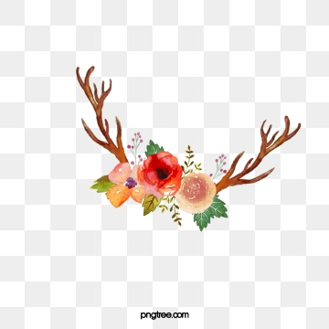 Antler clipart vector. Antlers png psd and
