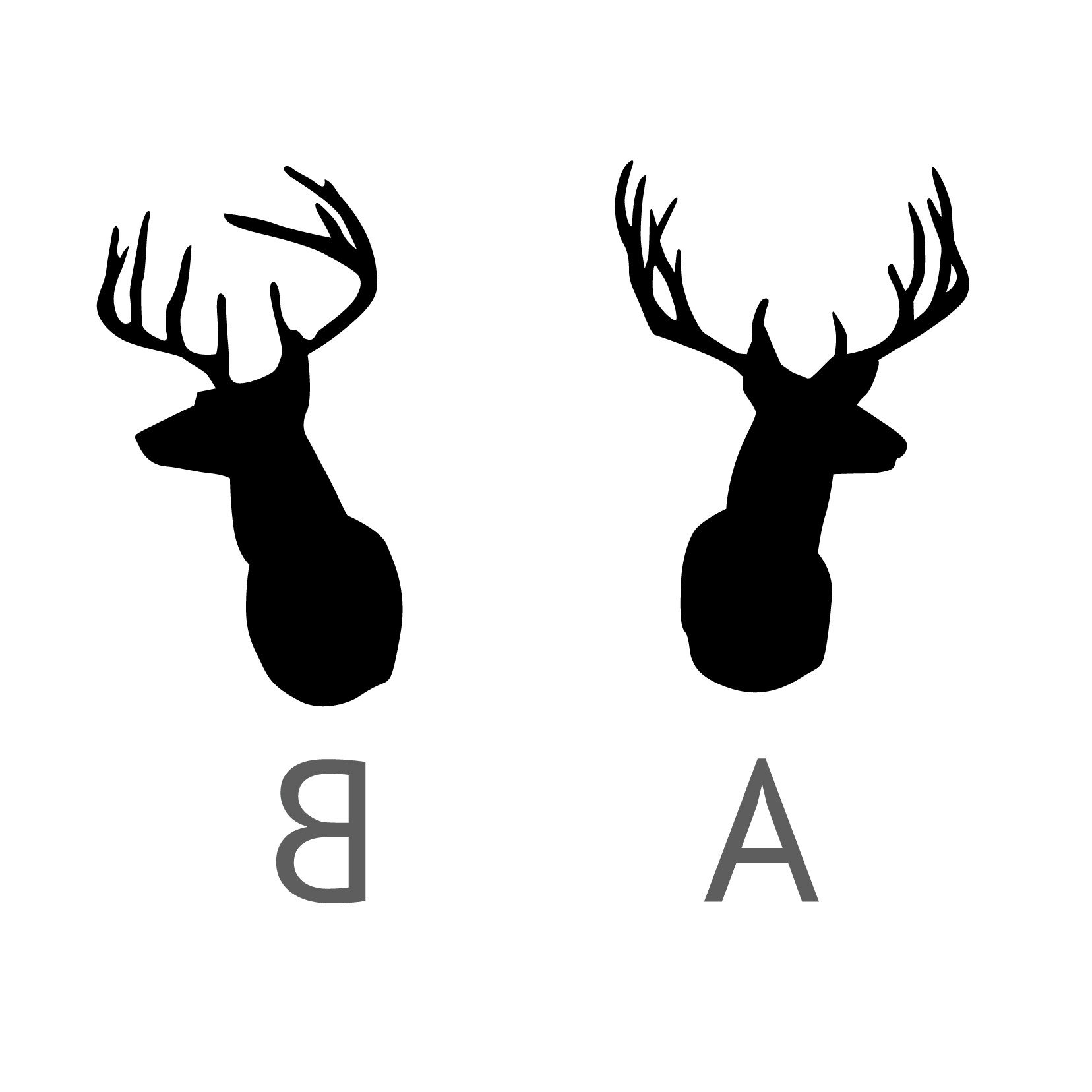Deer silhouette at getdrawings. Antler clipart white tail