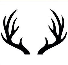 Deer clip art use. Antler clipart