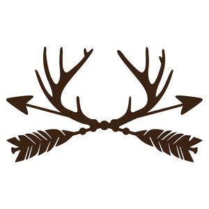 Antlers clipart arrow. Trophy antler arrows diy