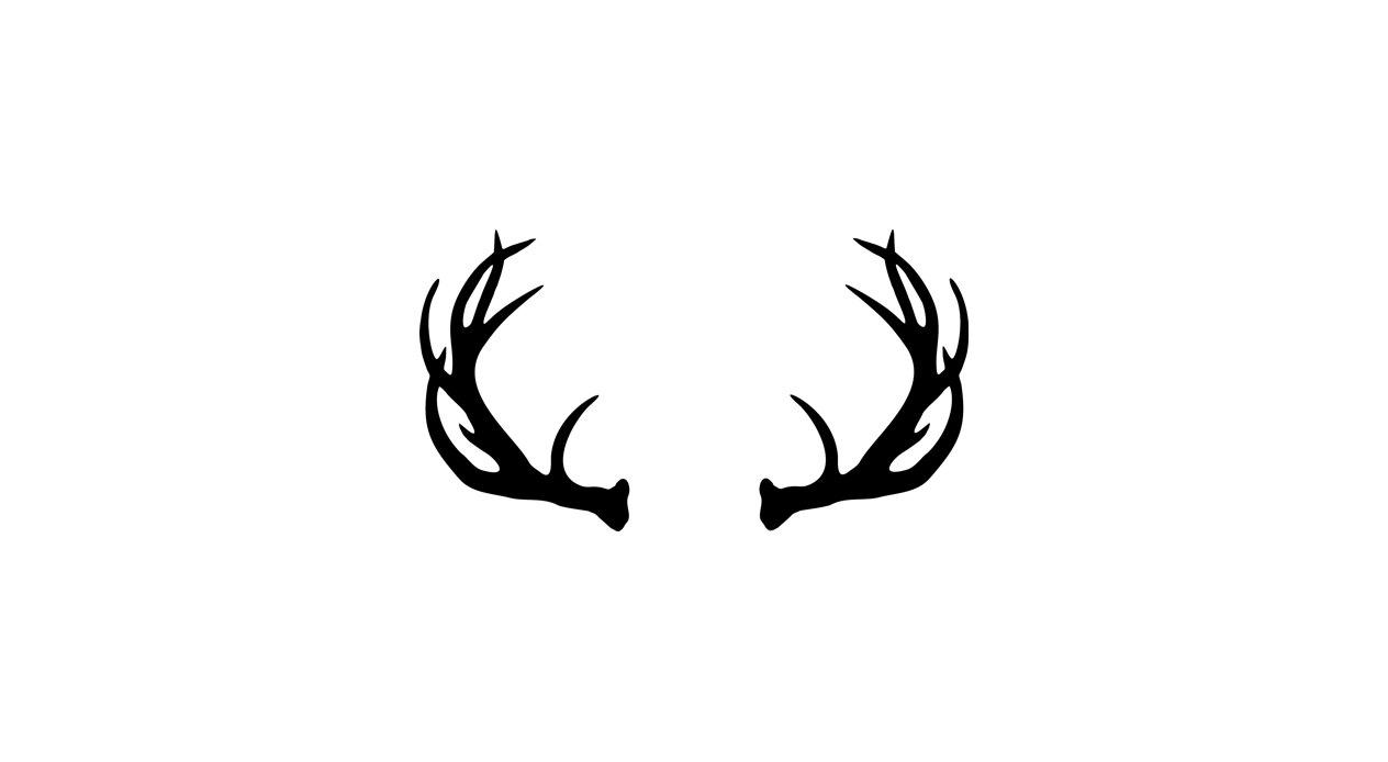 New deer collection digital. Antlers clipart buck antler