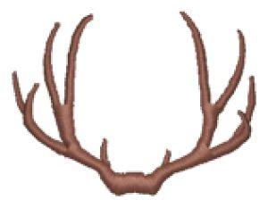 Antlers clipart deer rack. Reindeer free download best