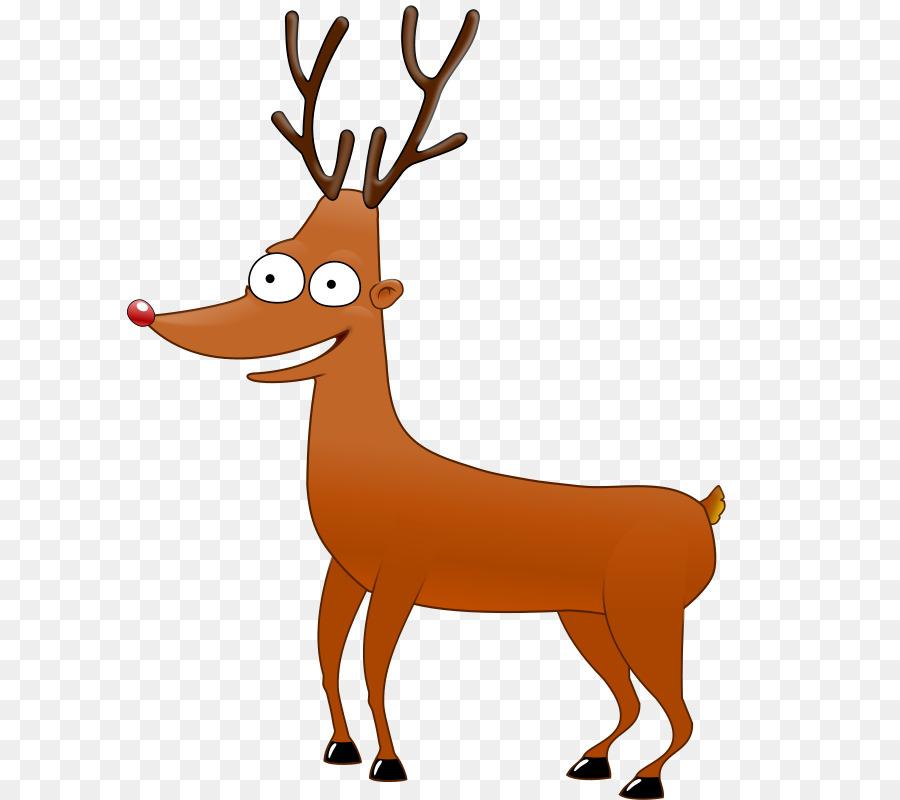 Reindeer santa claus cartoon. Antlers clipart rudolph