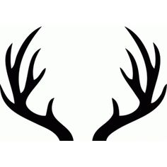 Antler clipart reindeer ear. I will need these