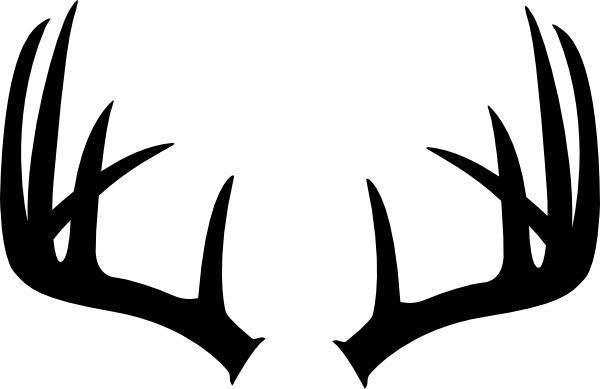 Antlers clipart single. Just clip art at