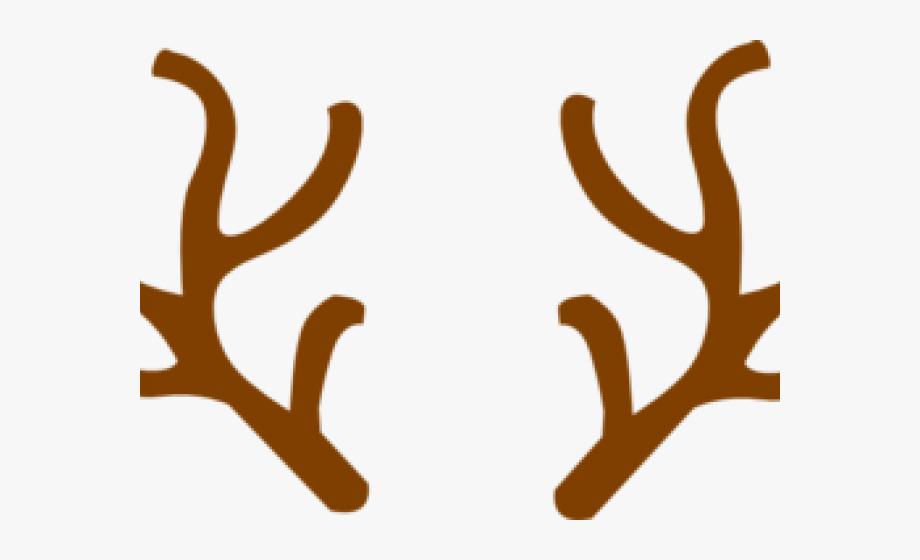 Antlers clipart. Ear reindeer antler transparent