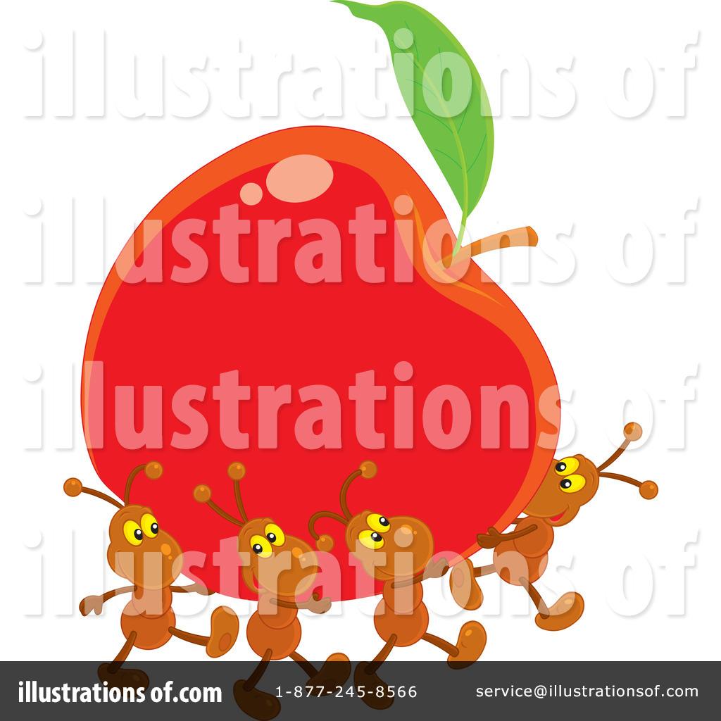 Illustration by alex bannykh. Ants clipart alphabet