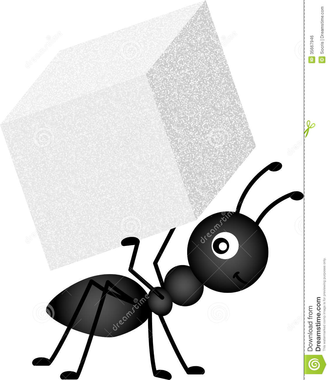 Ants clipart carry. Ant carrying sugar cube