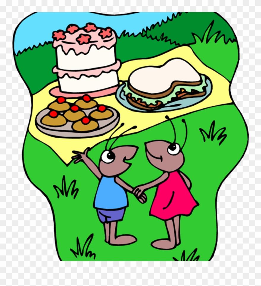 Free picnic panda . Ants clipart family