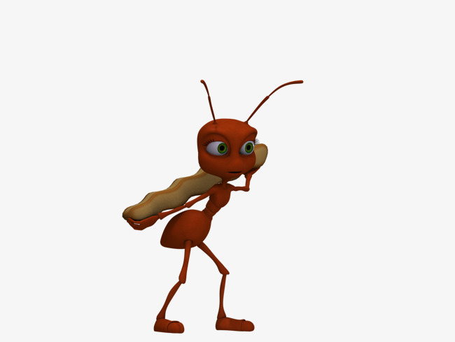 Ants clipart food. Cartoon ant png image
