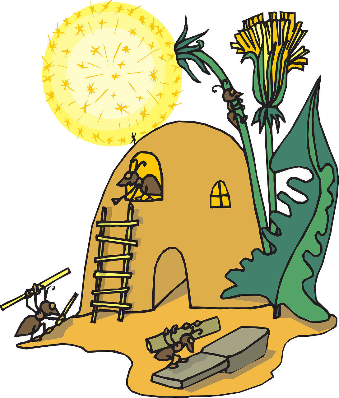 Ant clipart friendly. Facts for kids cool
