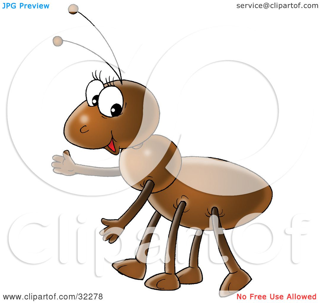 Ants clipart friendly. Brown ant explore pictures