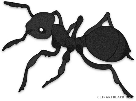 Ants clipart gray. Black and white clipartblack
