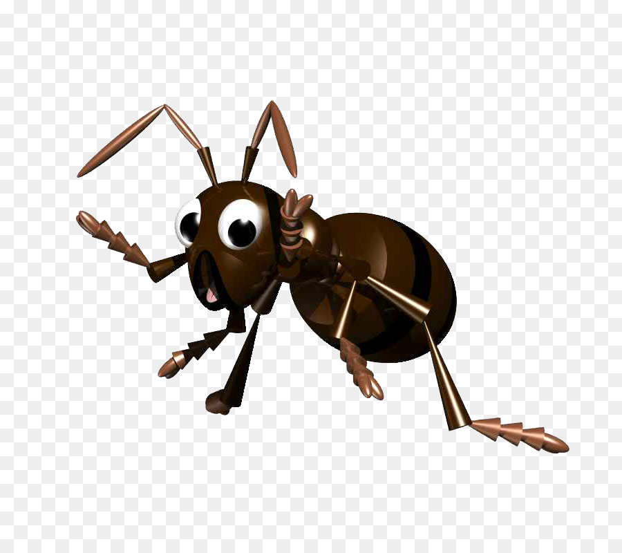 Ants clipart leaf cutter ant. Black garden insect leafcutter