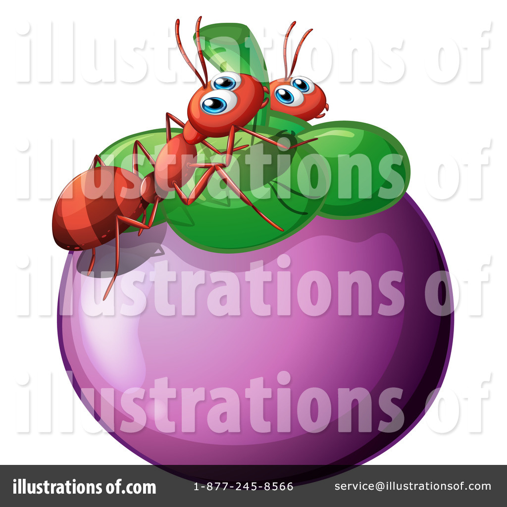 Ants clipart pink. Illustration by graphics rf