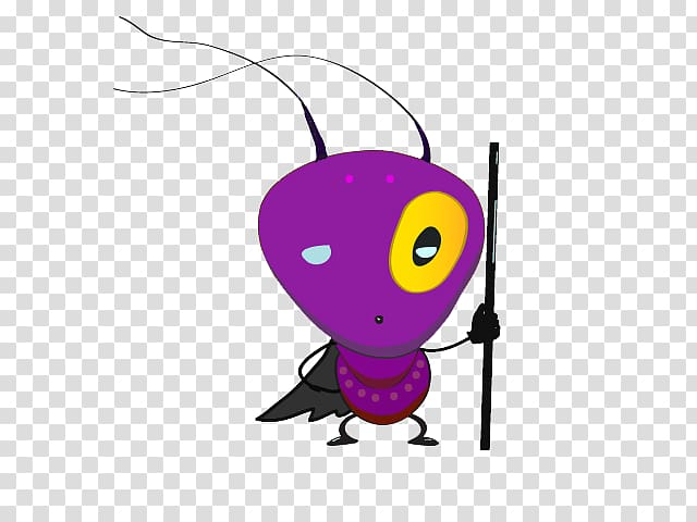 Ants clipart purple. The insect illustration holding