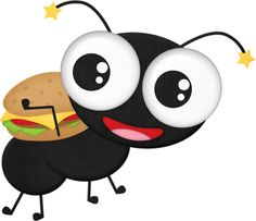 Ants clipart summer picnic. Black ant png bees