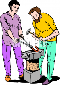 Anvil clipart animated. Occupations panda free images