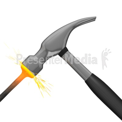 Anvil clipart animated. Presenter media powerpoint templates