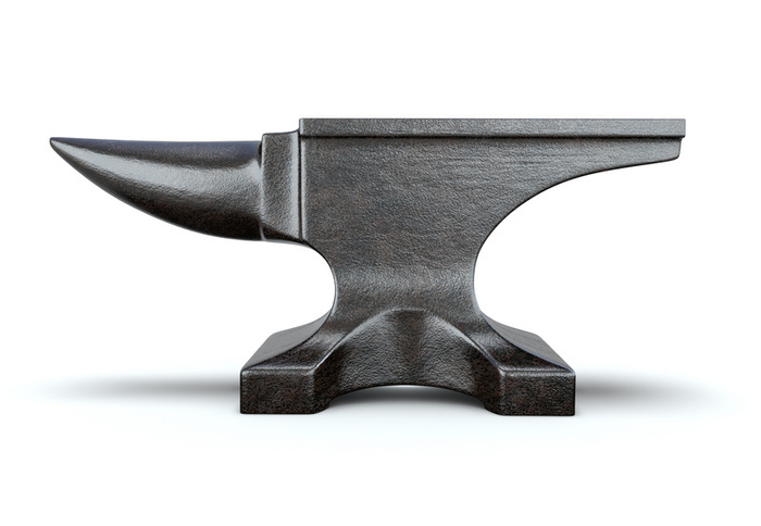 Anvil clipart black and white. Free images at clker