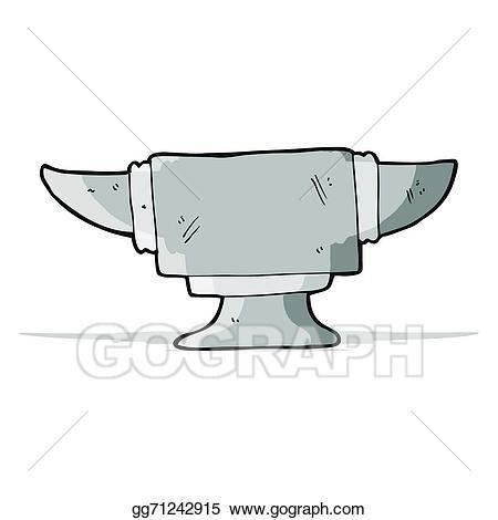 Anvil clipart black and white. Cartoon clip art vector