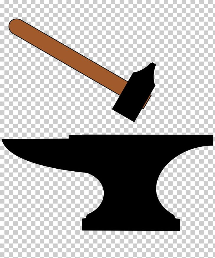 Anvil clipart blacksmith. Forge hammer png angle