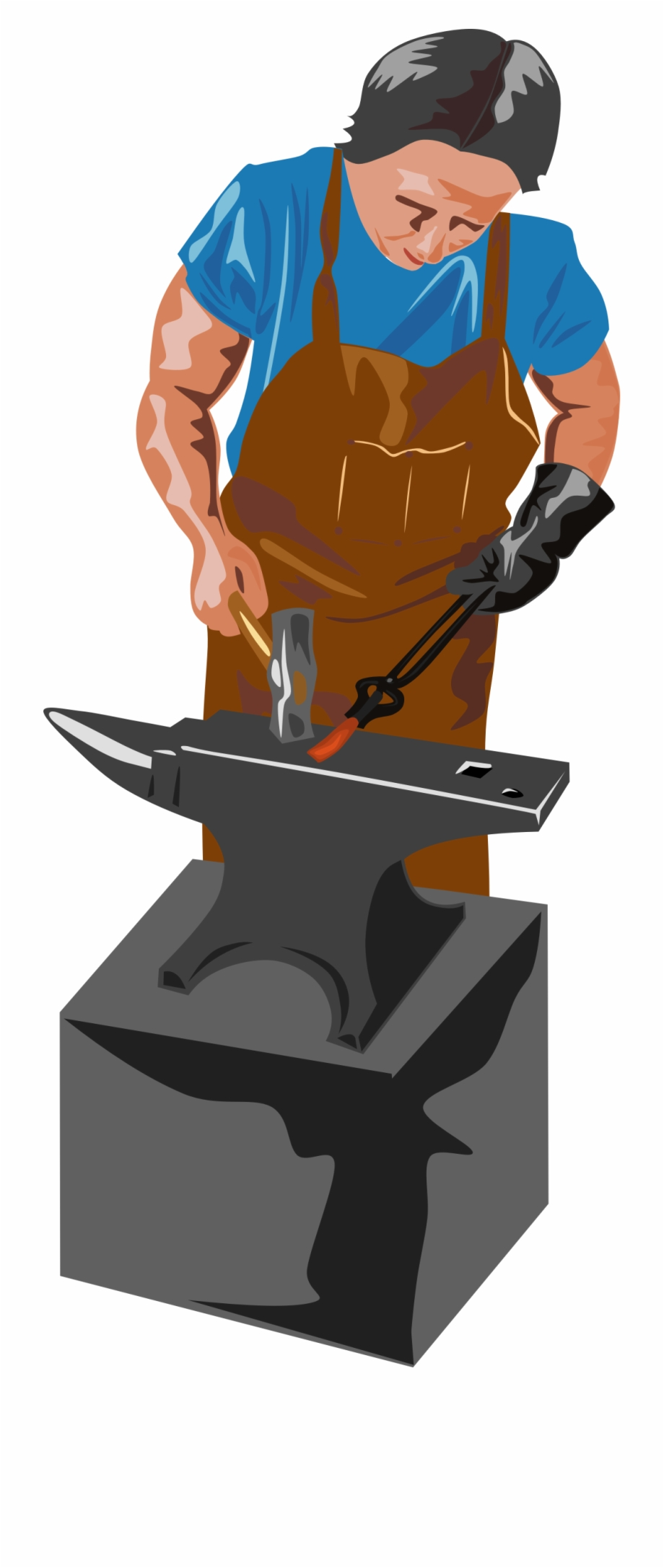 Anvil clipart blacksmith tongs. This free icons png