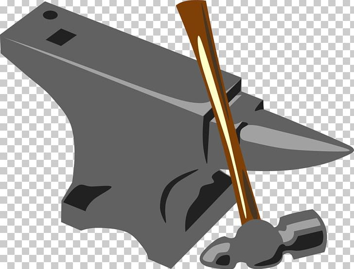 Anvil clipart blacksmith tool. Forge hammer png angle