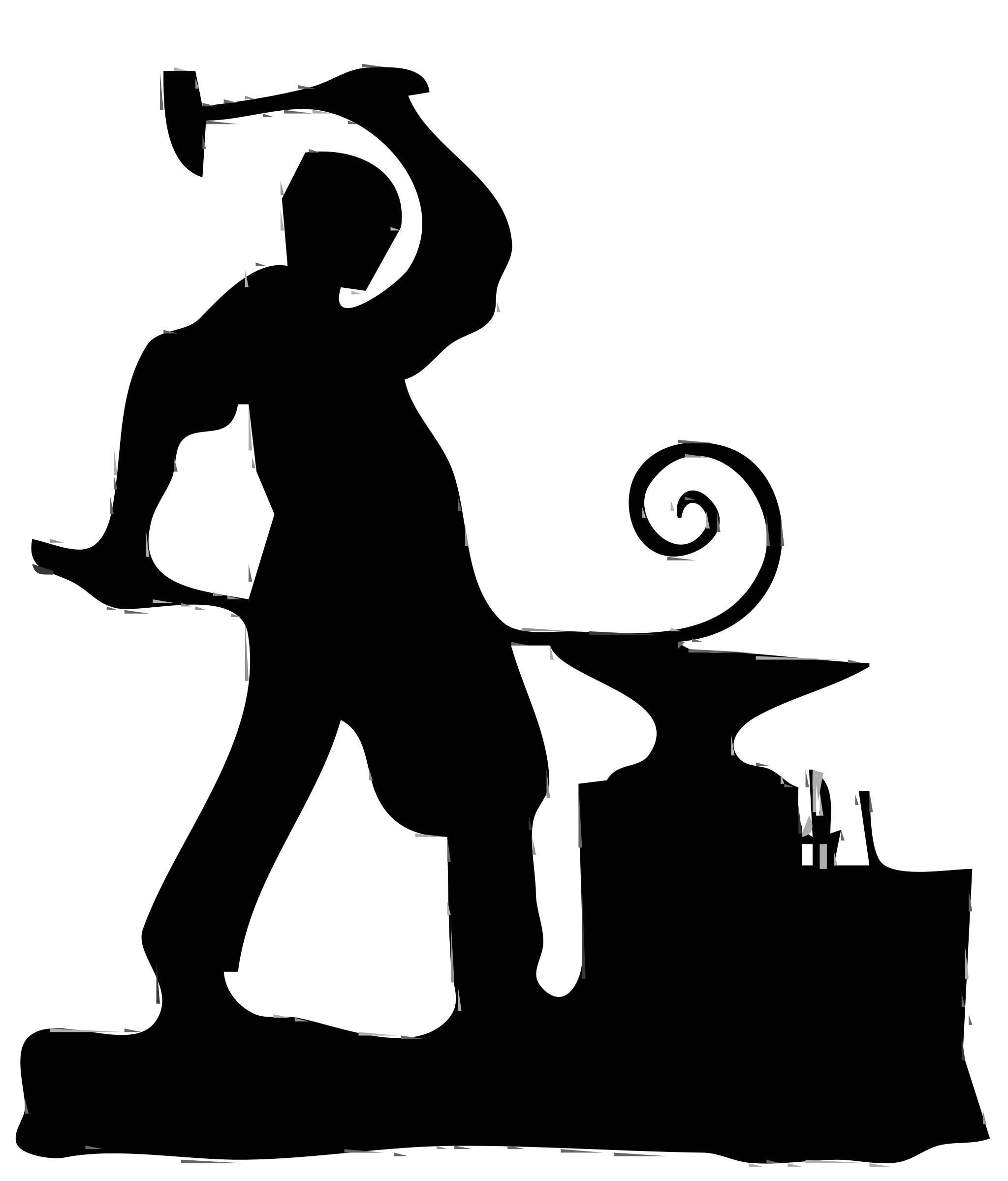 Cilpart nonsensical clip art. Anvil clipart blacksmith tool