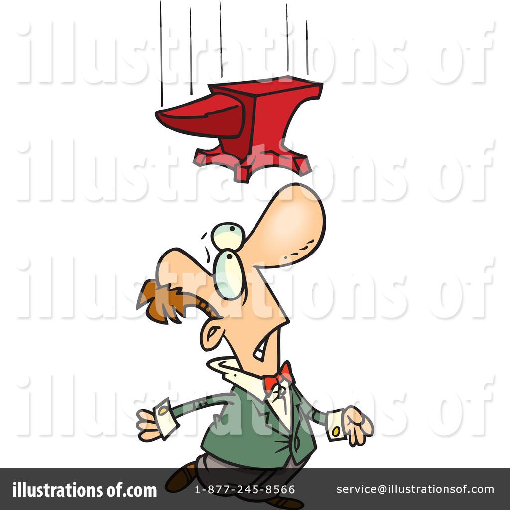Anvil clipart cartoon. Illustration by toonaday royaltyfree