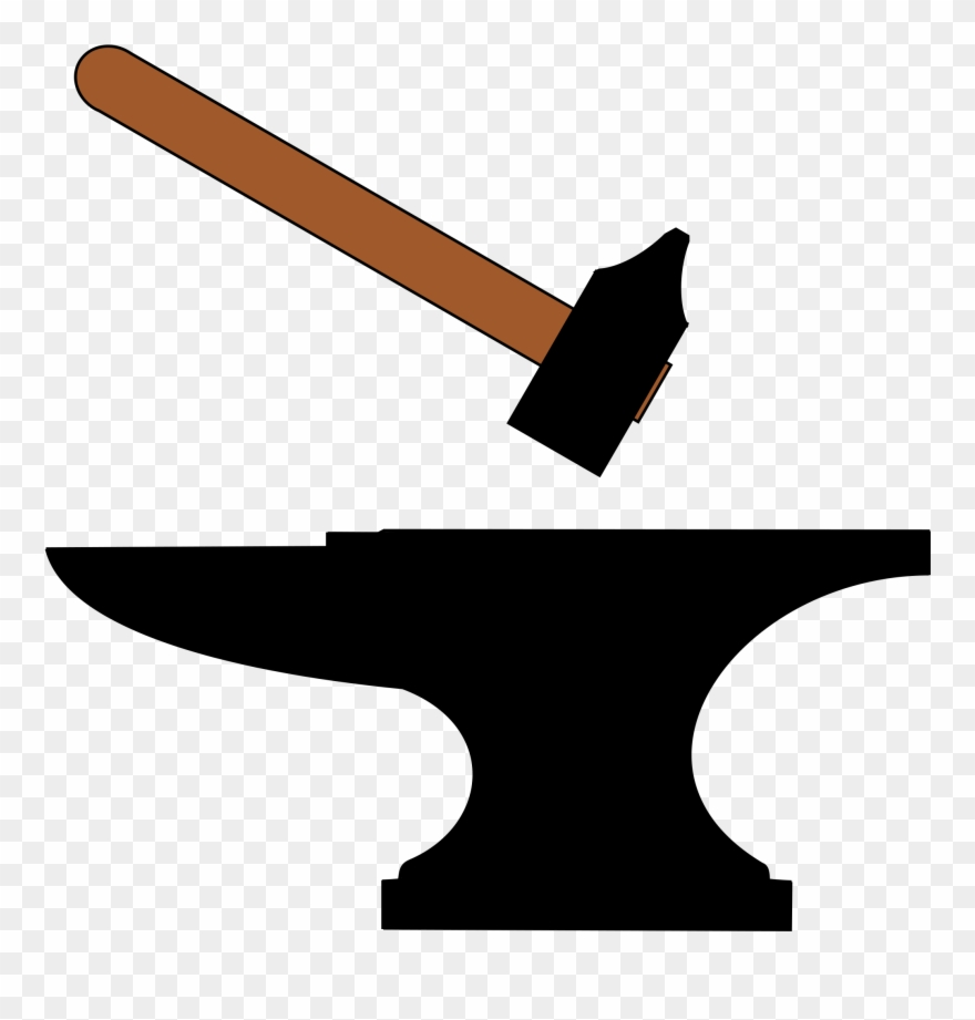 Anvil clipart clip art. Open hammer and png