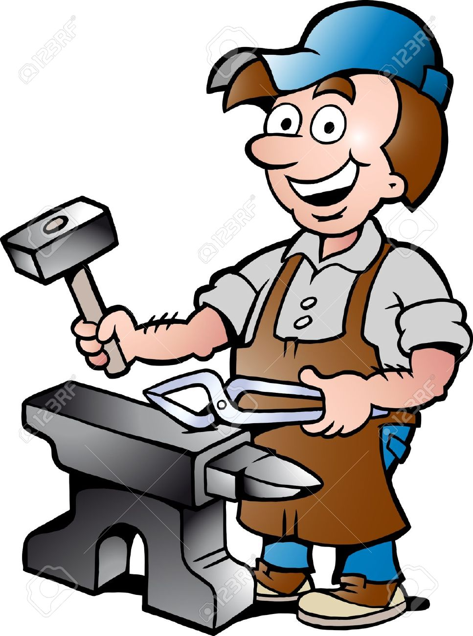 Anvil clipart colonial blacksmith.  clipartlook