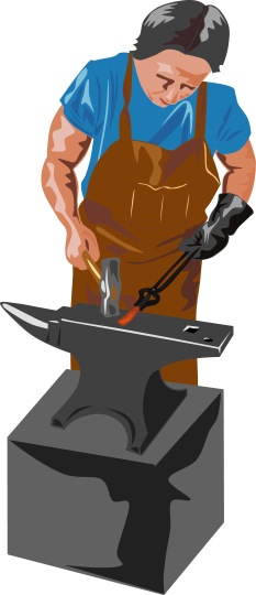anvil clipart forge