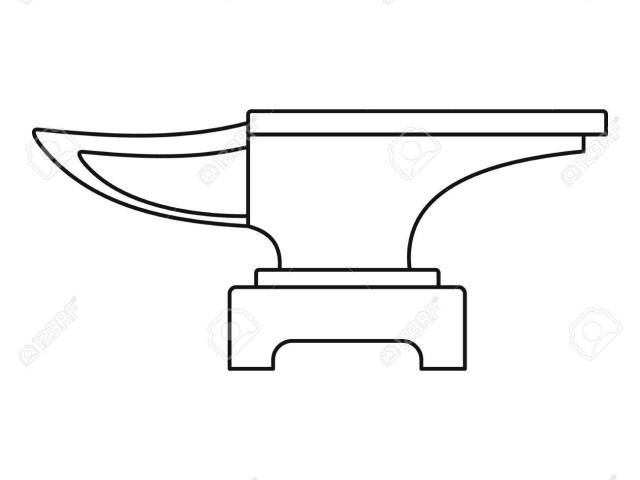 Free silversmith download clip. Anvil clipart heavy weight