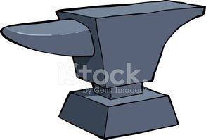 Anvil clipart metallurgy. Stock vectors me