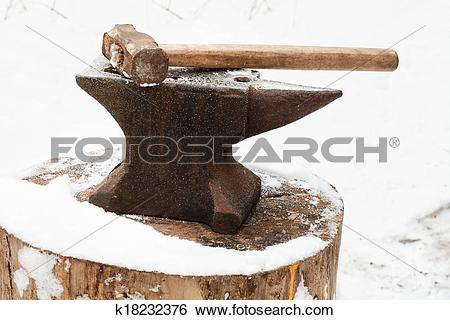 Anvil clipart smithy. Old pencil and in