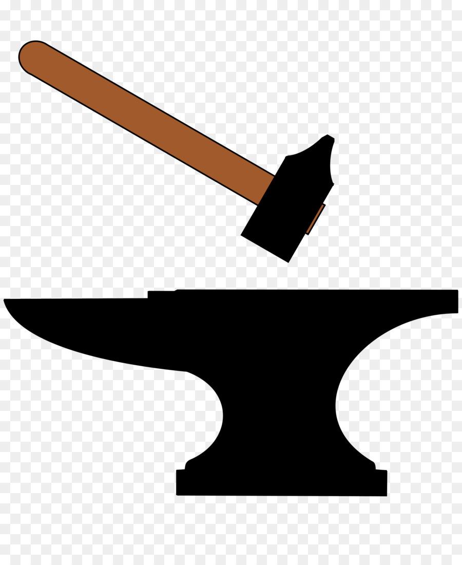 Anvil clipart smithy. Hammer clip art library