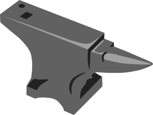 Anvil clipart transparent. Clip art at clker